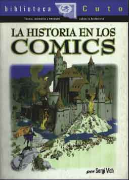 Carátula del libro La historia en los cómics