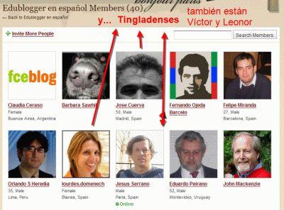 Edublogger en español